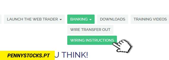 Como depositar dinheiro na minha conta TRADEZERO